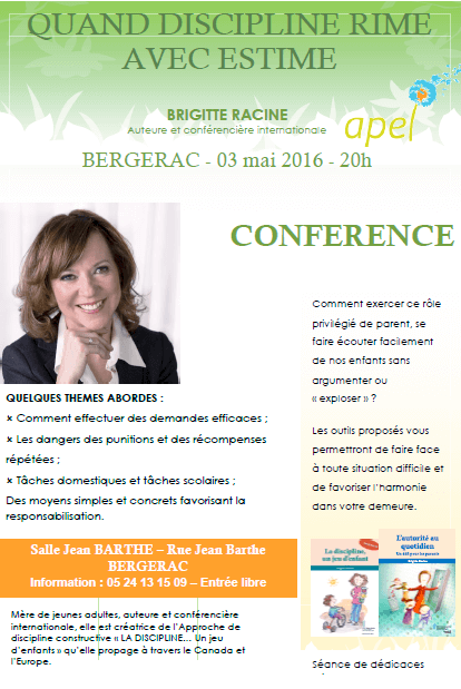AFFICHE CONFERENCE B. RACINE