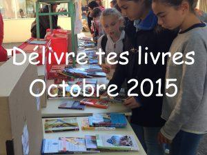 Délivre tes livres octobre 2015 N°5